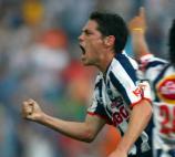 3.- Guillermo Franco: El quinto mejor goleador en la historia del Clásico Regio, fue pieza clave para que Monterrey fuera campeón tras 17 años de sequía. MEXSPORT/ALEJANDRO ACOSTA