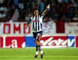 2.- Jesús Arellano: El carismático Cabrito fue tres veces campeón con los Rayados (Clausura 2003,Apertura 2009, Apertura 2010) MEXSPORT/MARTIN VENEGAS