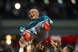 1.- Humberto el chupete Suazo es el máximo romperedes en la historia del equipo, ¡anotó 121 goles en 255 partidos! MEXSPORT/ Jorge Martinez
