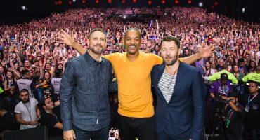 'Bright', la enorme promesa de Netflix (y de Will Smith) se estrenó en la Brasil Comic-Con 2017
