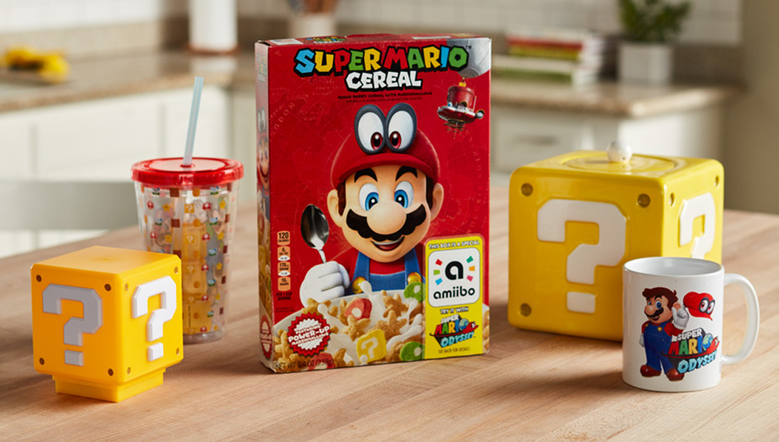 Cereal de Super Mario Bros