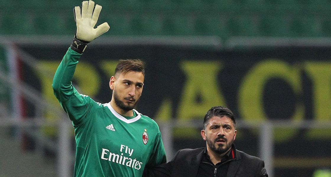 Aficionados del Milan bulearon a Donnarumma y lo hicieron llorar