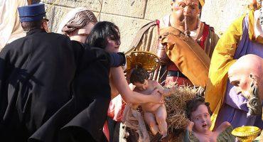 FEMEN El Vaticano Navidad