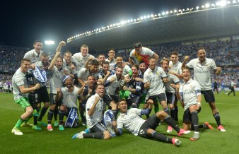 El 21 de Mayo el Real Madrid aseguró su título de liga número 33 - Photo by Aitor Alcalde/Getty Images