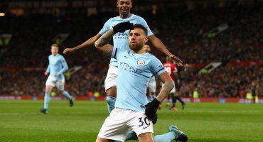 El City se llevó el derby de Manchester y rompió la racha del United