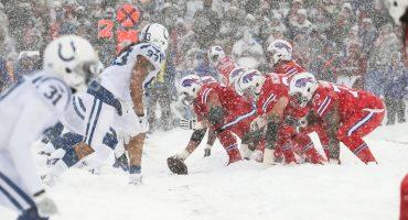 Usted no diga frío hasta ver pingüinos...o estas fotos del Colts vs Bills en Buffalo