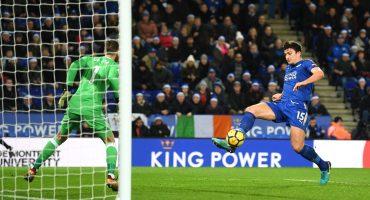 ¡El Manchester United dejó escapar dos puntos contra el Leicester y está a 13 del City!