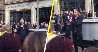 ¿Se acuerdan cuando Keane tocó 'Somewhere only we know' en las calles de Escocia?