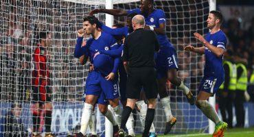 Morata le dedicó un gol a su mujer embarazada y ahora está suspendido