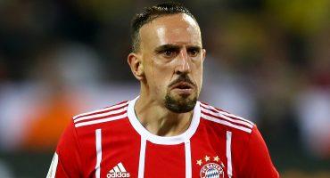Ribéry insultó a un aficionado y lo puso en su lugar por ignorante