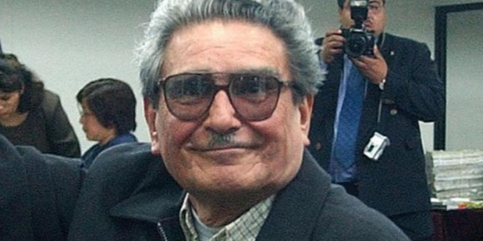 Abimael Guzmán, líder de Sendero Luminoso