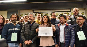 Tres por la candidatura del PRD para la CDMX; Sheinbaum va por Morena