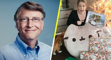 Esto es lo que pasa cuando Bill Gates es tu amigo secreto en navidad
