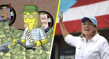 In your face, Trump! Los Simpson piden ayuda para Puerto Rico