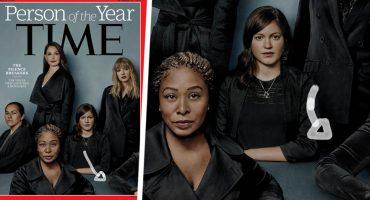 El verdadero significado del codo que aparece en la nueva portada de la Revista Time