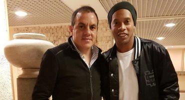 Siguiendo los paso del Cuau, Ronaldinho se mete a la política