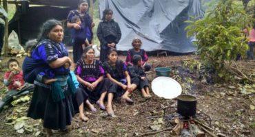 Desplazados por conflicto territorial, mueren en las montañas indígenas chiapanecos