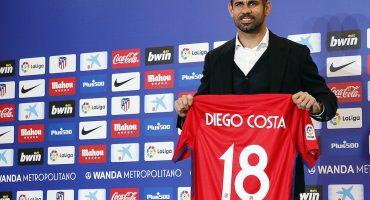 Galería: Así fue la presentación de Diego Costa y Vitolo con el Atlético de Madrid
