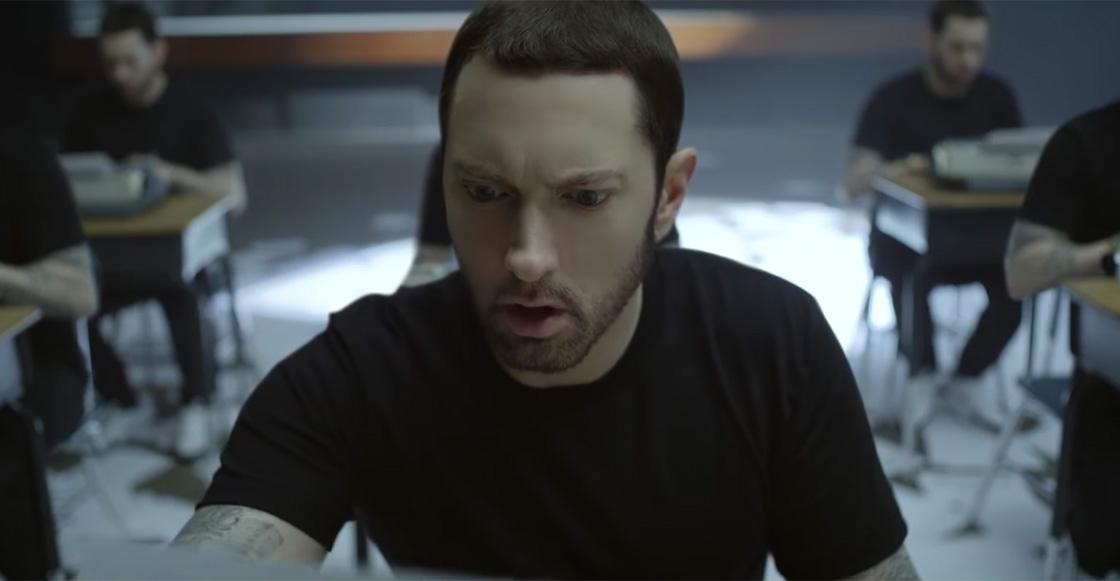 Guess who's back! Eminem hace historia con 8 discos consecutivos en el número uno