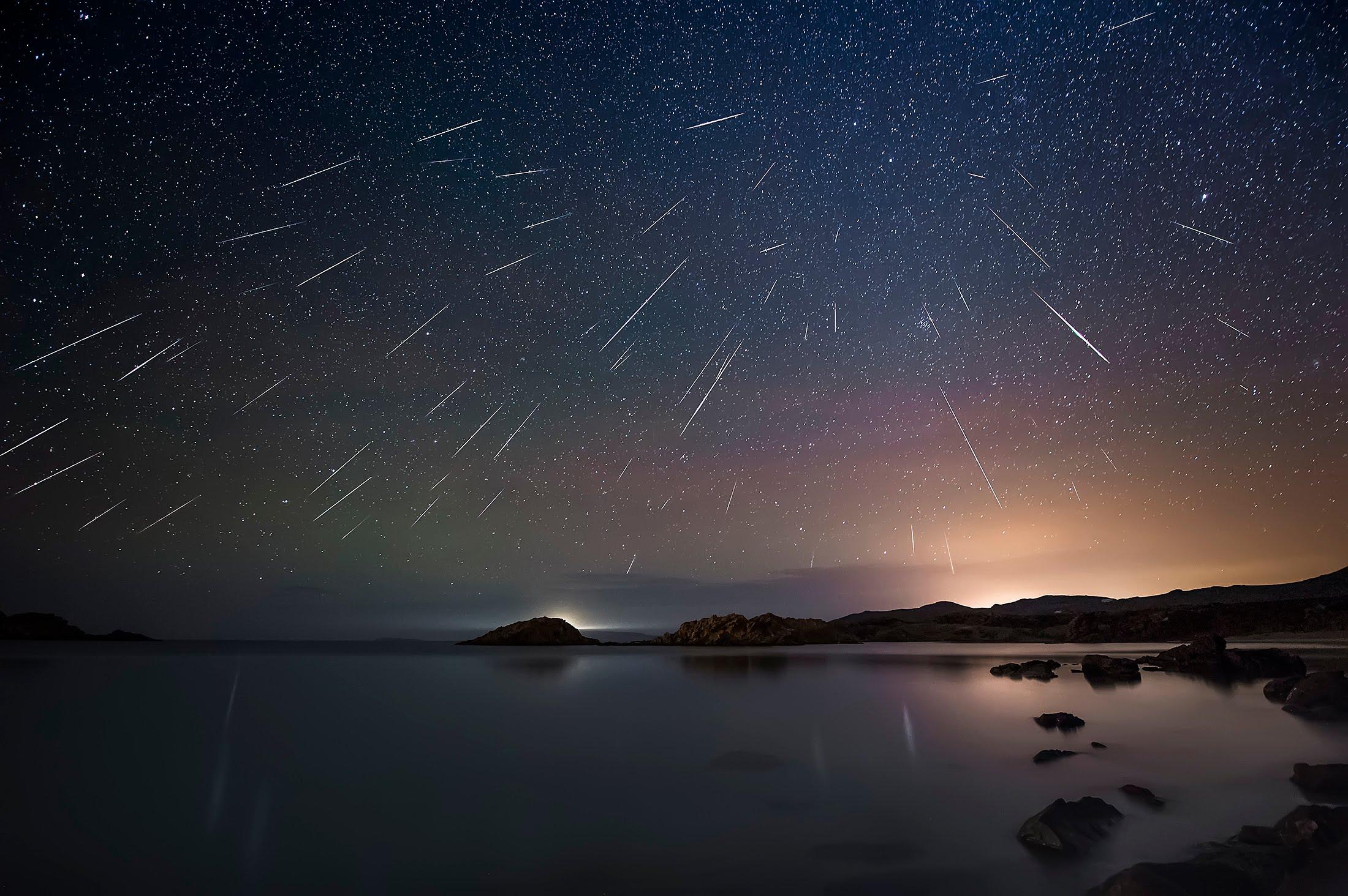 Lo que necesitas saber sobre la última lluvia de estrellas Gemínidas del 2017