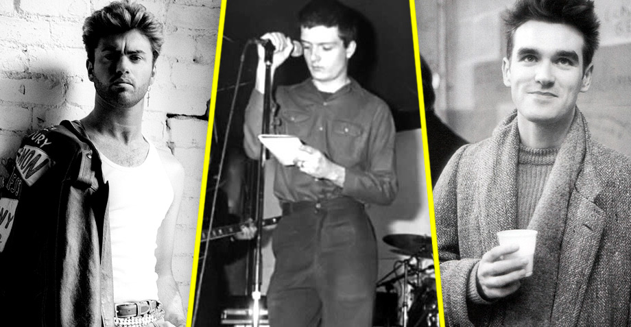 Blast from the past! Mira a George Michael y Morrissey hablar de Joy Division