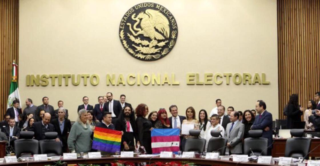 ¡Yay! INE aprueba el voto de las personas transgénero en las próximas elecciones