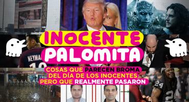 ¿Inocente Palomita? Cosas que parecen broma del día de los inocentes pero que realmente pasaron