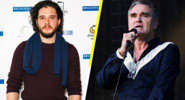 You know nothing, Jon y Moz: Kit Harington y Morrissey los