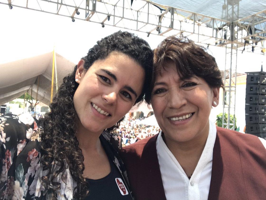 Luisa María Alcalde, integrante de Morena