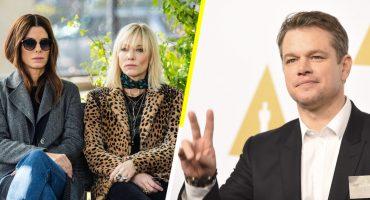 ¡Adiós y bye! Nadie quiere ver a Matt Damon en Ocean's 8