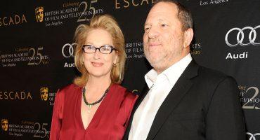 She Knew: la protesta con la que acusan a Meryl Streep de cubrir a Harvey Weinstein