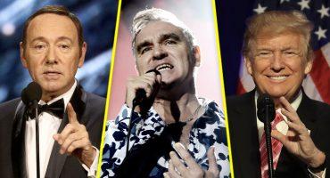 Morrissey hace nuevas declaraciones sobre Spacey y Trump… y no es tan grave como parece