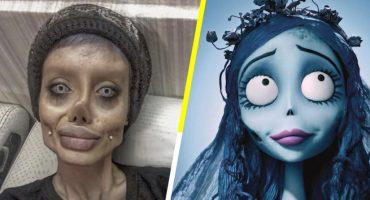 Quiere ser Angelina Jolie, pero se parece a la