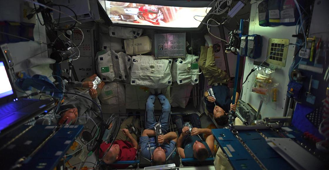 Regalo de Navidad: Así fue como los astronautas de la NASA vieron 'The Last Jedi'