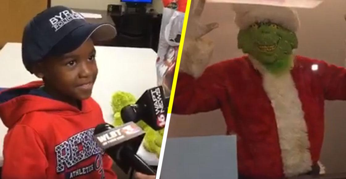 Inocencia navideña nivel: Un niño llamó al 911 porque el Grinch se estaba robando la Navidad
