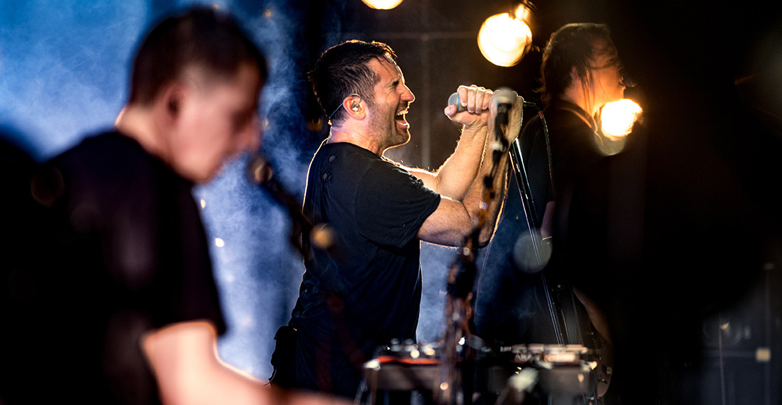 Checa este ensayo de Nine Inch Nails para su nuevo sencillo The Lovers