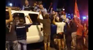¡Grandes! Policia de Honduras se declara en huelga para no reprimir a los protestantes contra fraude electoral