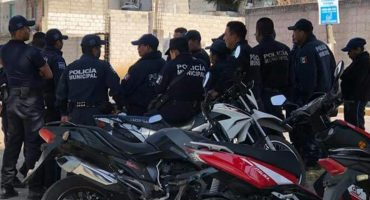 Policías en Tlaxcala se van a huelga porque no les han pagado su aguinaldo