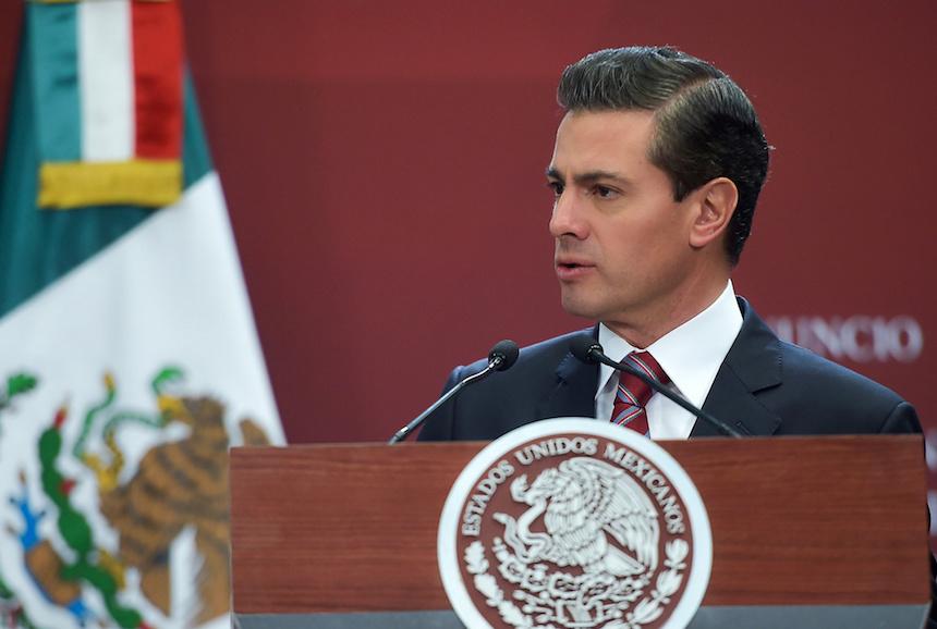 Enrique Peña Nieto, presidente de los Estados Unidos Mexicanos
