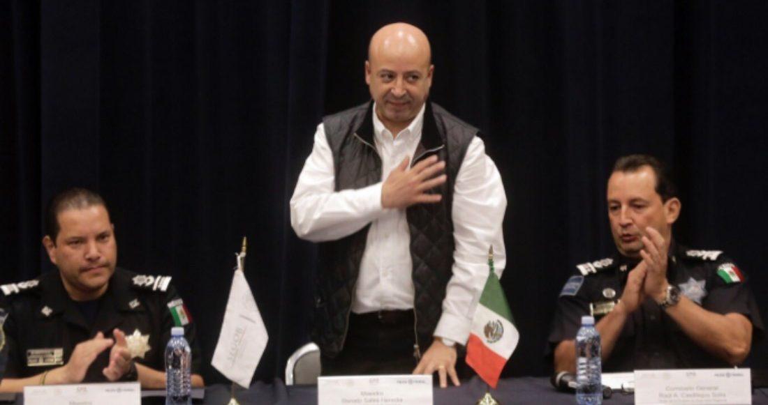 Comisionado Nacional de Seguridad, Renato Sales