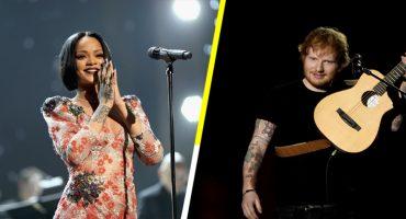 Rihanna y Ed Sheeran, los artistas más populares de 2017 en Spotify