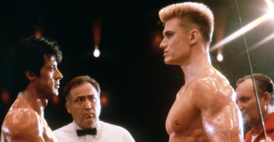 ¡Rocky Balboa e Iván Drago se reúnen 32 años después!