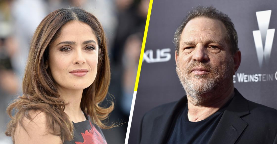Harvey Weinstein niega todas las acusaciones de Salma Hayek