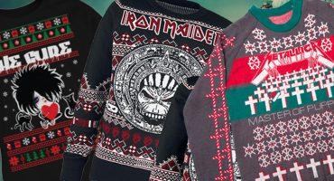 Christmas Rock! Checa estos suéteres navideños para todo melómano