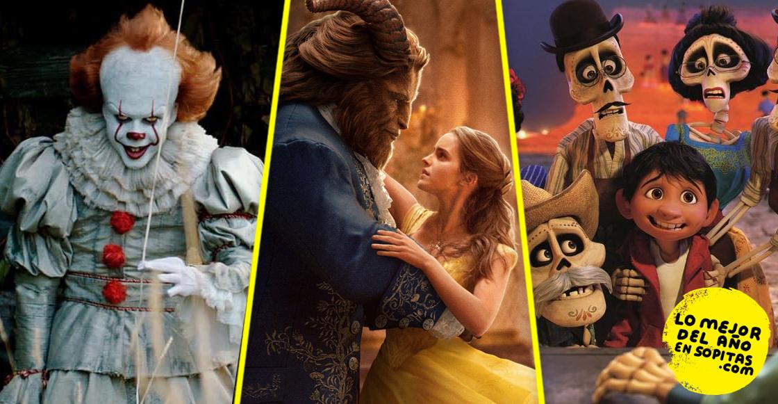 Estas son las 20 películas más taquilleras que nos dejó el 2017
