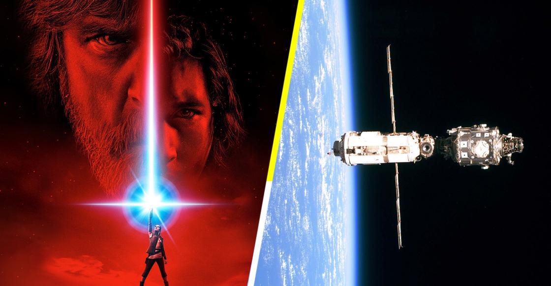 Una copia de Star Wars: The Last Jedi será enviada al espacio gracias a la NASA