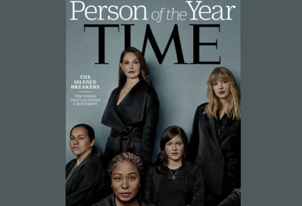 "Portada Time ""Person of the Year 2017"""