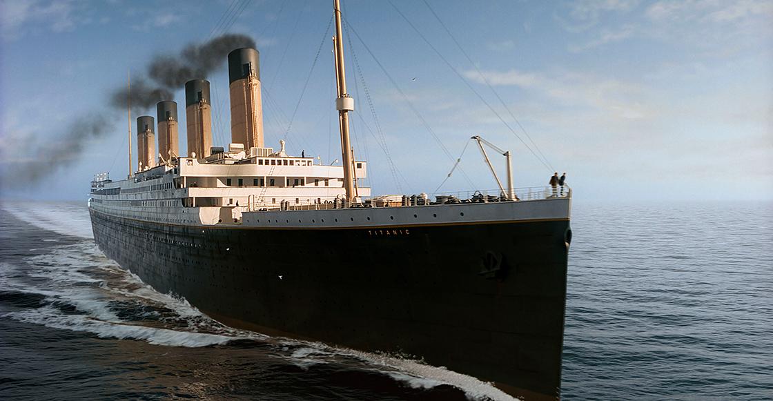 Mira el hundimiento del Titanic en tiempo real con esta animación