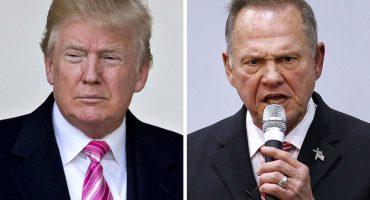Pese a acusaciones de pederasta, Trump no retiró apoyo a Moore... ayer perdió la elección en Alabama