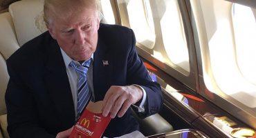 Esto es lo que come Donald Trump cada vez que va a McDonald's